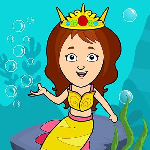 Mi ciudad Tizi - Juegos de sirenas bajo el agua