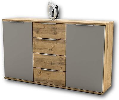 Capri Schlafzimmer Kommode In Wildeiche Optik Basaltgrau Modernes Ausdrucksstarkes Softclose Sideboard Fur Ihr Schlafzimmer 150 X 90 X 38 Cm B H T Amazon De Kuche Haushalt