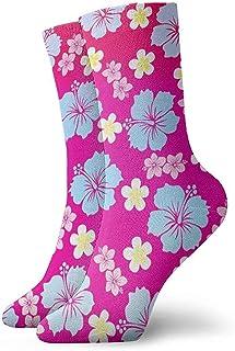 Dydan Tne, Calcetines Estampados de Flores de Fiesta Hawaiana Divertida Loca para niños y niñas