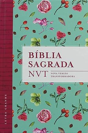 Bíblia NVT - Flores Tiffany (Letra grande/capa dura)