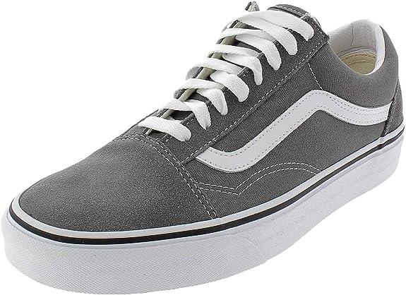 Vans - Old Skool Gris : Amazon.fr: Chaussures et Sacs