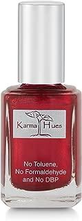 Karma Organic Natural Nail Polish-Non-Toxic Nail Art, Vegan and Cruelty-Free Nail Paint (Christmas Morning)