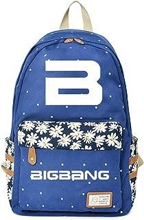 JUSTGOGO KPOP BIGBANG G-DRAGON Backpack Daypack Laptop Bag College Bag Book Bag School Bag