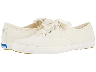 Keds x kate spade new york Bridal Champion (White Glitter Tulle) Women