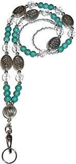 Hidden Hollow Beads Chunky Style Fashion Beaded Lanyard Necklace, 34