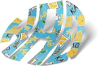 Kappa Alpha Theta Sorority Monogram in Kite Pattern Print Sticker 3