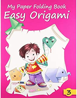 My Paper Folding Book Easy Origami Book 3 - Paperback