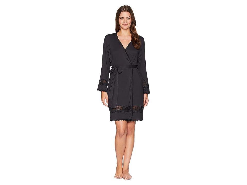 UGG Cosima Embellished Robe (Black) Women