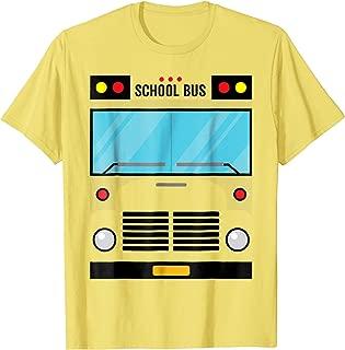 School Bus Costume Shirt Halloween Costume