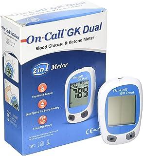 ON CALL GK DUAL Blood Glucose & Ketone Metre Monitering System Monitor