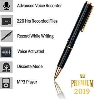 TCTEC 16GB Digital Voice Recorder for Students - [Bonus Value] Easy to Use - Voice Activated Mini Recorder- Long Battery Life - MP3 Playback On The Go- Ultra Light - Durable