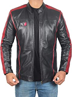 Cafe Racer Mens Leather Jacket - Black Real Lambskin Motorcycle Leather Jackets for Mens