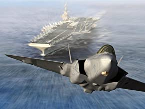 F-35 Lightning II Joint Strike Fighter Fabric Cloth Rolled Wall Poster Print -- Size: (32