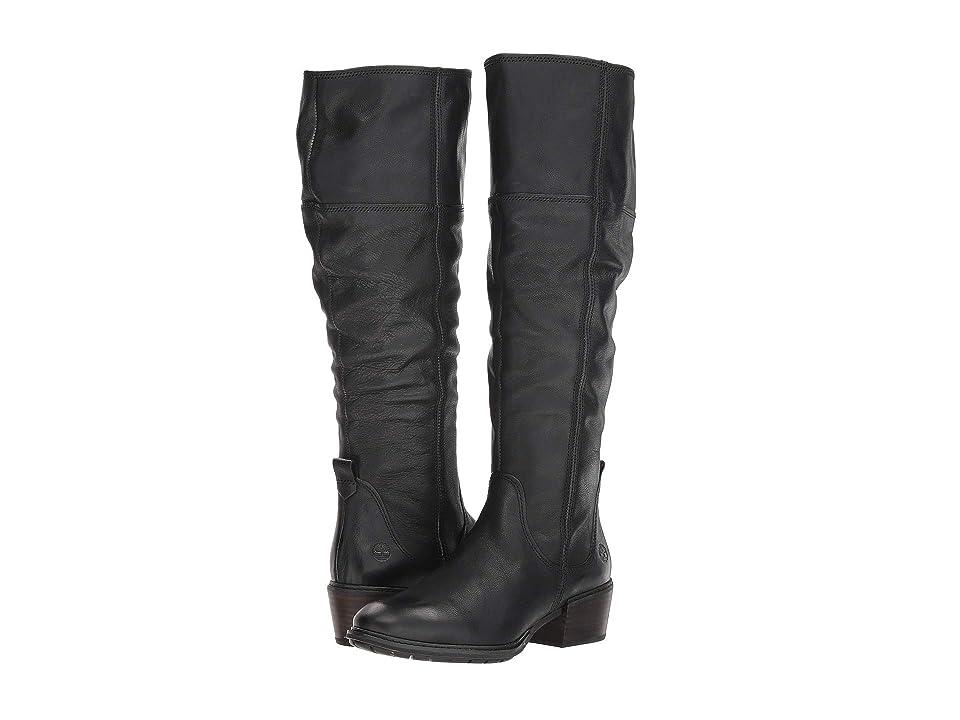 Timberland Sutherlin Bay Tall Boot (Black Full Grain) Women