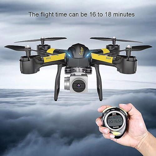 venta al por mayor barato FairytaleMM Quadcopter S31 S31 S31 Long Endurance One Key Return Posicionamiento de Flujo óptico Altitude Holding Modo sin Cabeza 6 Axis Gyro 1080P Camera (Color  amarillo)  cómodo