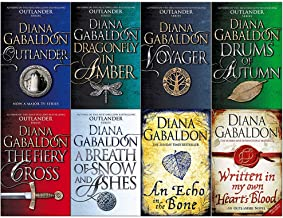 Diana Gabaldon Outlander Series 8 Book Set (1- 8)