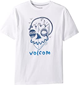 Surf Skull Short Sleeve Tee (Big Kids)