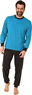 RELAX by Normann Elegant Men's Long Sleeved Pajama with Cuffs in Elegant Minimal Look - 112 101 10 712