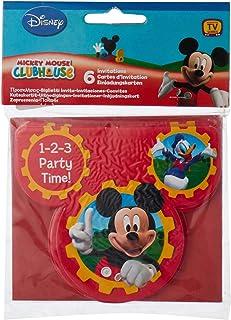Disney Amscan Mickey Mouse Invite
