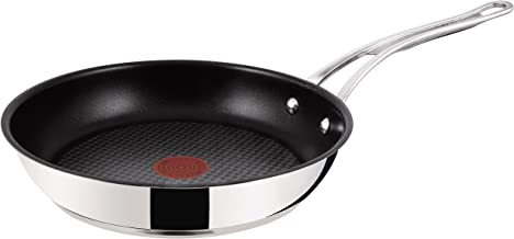 Tefal Jamie Oliver Professional E80304 Wave Stainless Steel Induction Frying PaN 24 CM by Tefal