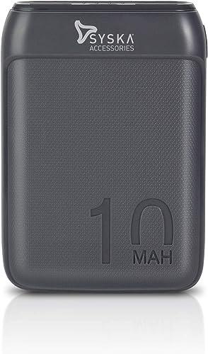 SYSKA P1016B Power Pocket 100 10000 Mah Lithium Polymer Grey