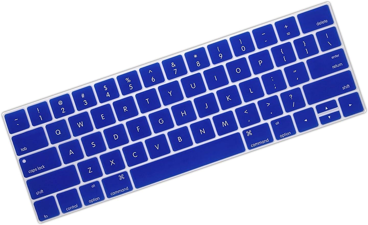 Protector De Teclado Para Macbook Pro 13 A1706 A1989 azul