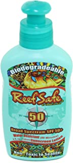Reef Safe Biodegradable Waterproof SPF 50+ Sunscreen Lotion, 4 fl. oz