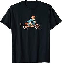 Cafe Racer Tshirt, Cartoon Illustration Graphic Shirt