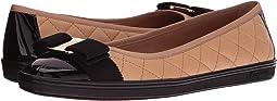 Salvatore Ferragamo - Nappa Leather/Tweed Sneaker