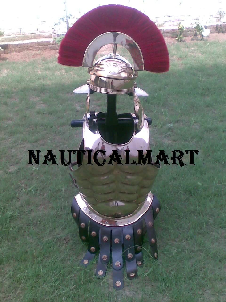 NAUTICALMART Medieval Armor Halloween Ranking TOP5 Costume Max 40% OFF Muscle Wearable Ar