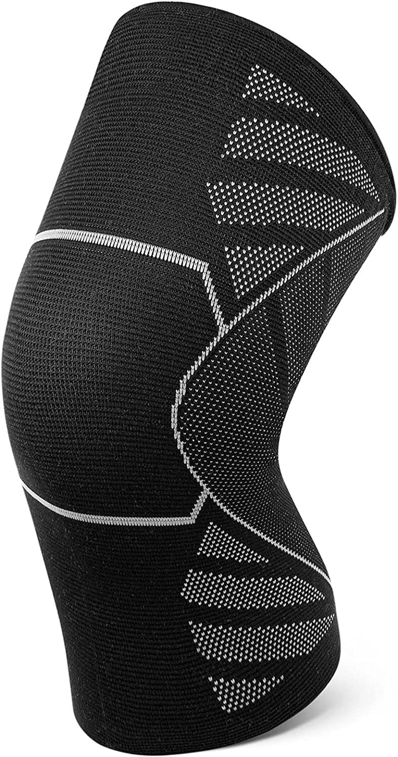 trust Portzon Knee Compression Sleeve Max 58% OFF 1 Pc for Brace Support Wo