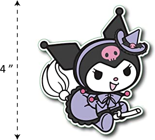 (TK-168) My Melody | Kuromi Maid - Waterproof Vinyl Sticker for Laptops Tablets Cars Motocycles Bicycle Skateboard Luggage Or Any Flat Surface (4