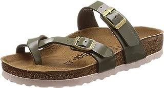 Unisex Mayari Birko-Flor Patent Sandals