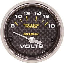 Auto Meter AutoMeter 40 200756-40 Gauge, Voltmeter, 2 1/16