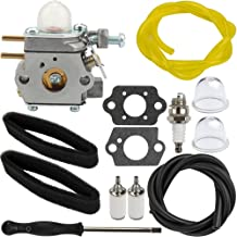 Panari 753-06423 Carburetor with Air Filter Fuel Line for Remington RM2510 RM2520 RM2560 RM2570 Trimmer RM2599 Pole Pruner Saw Murray H2500 M2500 M2510 M2550 Weed Eater