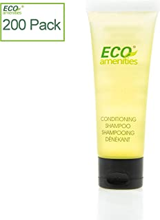 ECO amenities Travel size 30ml hotel shampoo and conditioner in bulk, Clear, Green Tea, 200 Count