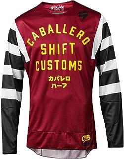 Shift 2019 Black Label Jersey - Caballero X-Lab (Large) (Dark RED)