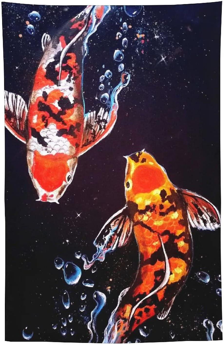 XYEHBNR Crap Fish Swimming Water Watercolor Sea All items free Translated shipping Studio Ro Animal