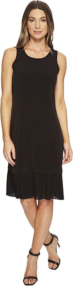 MICHAEL Michael Kors - Pleat Hem Tiered Dress