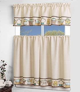 Best teapot kitchen curtains Reviews