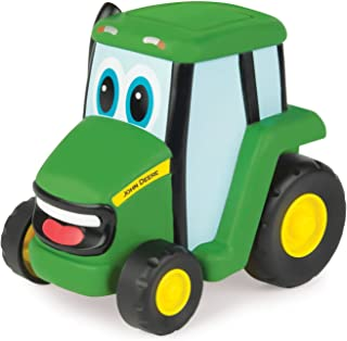 TOMY John Deere Push 'N' Roll Johnny Vehicle