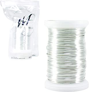 Wire Fancy 20 Gauge Tarnish Resistant Silver-Plated Copper and Copper Jewelry Making Wire 24 Yards / 72 feet (20 Gauge, Bulk Silver 100 Grams)