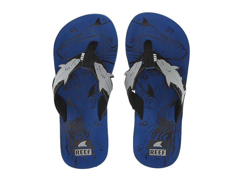Reef Kids Ahi Shark (Little Kid/Big Kid) (Blue Shark) Boys Shoes
