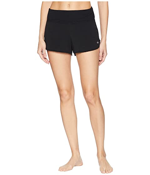 Alo Yoga Shorts Border Shorts, BLACK