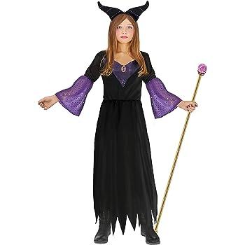 Ciao - Disfraz de bruja Maléfica para niña, 7-10 años, negro ...