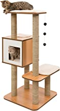 Vesper Cat Furniture, Walnut, V-High Base