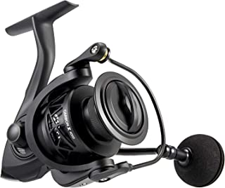 Piscifun Carbon X Spinning Reel - Light to 7.8oz, 6.2:1 High Speed Gear Ratio, All Carbon Frame and Rotor, 10+1 Shielded B...