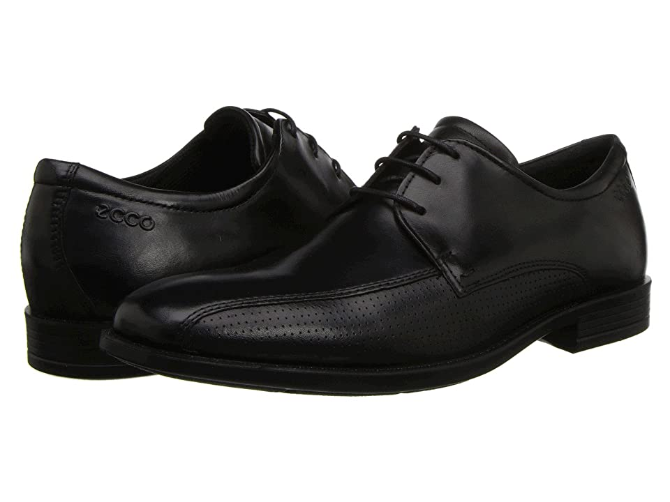 ECCO Edinburgh Perforated Tie (Black) Men