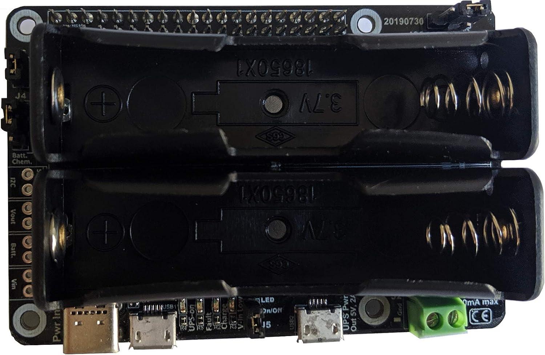 Pi-UpTime 2.0 UPS for Pi-4, Pi-3 or Other SBC
