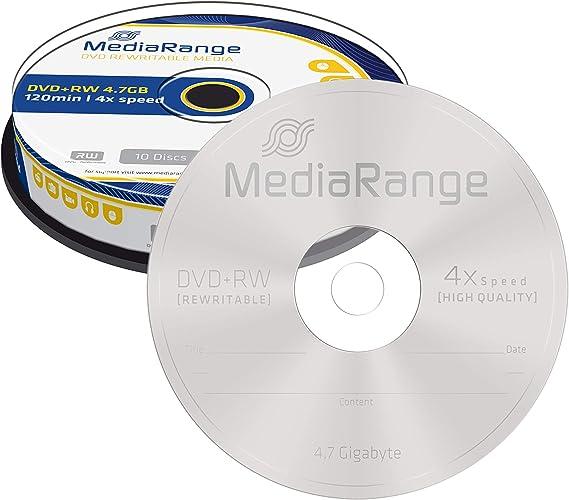 Mediarange Mr450 Dvd Rw 4 7gb Computer Zubehör